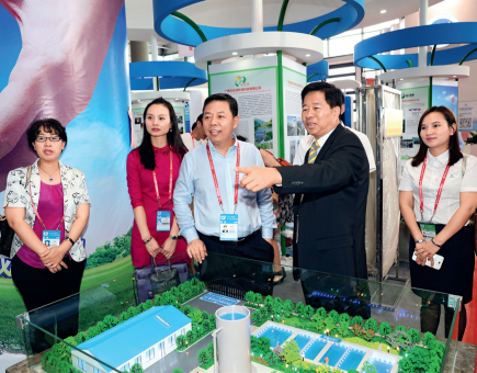 Exhibition on Environmentally Sound Technology and Industry of China at the 12th China-ASEAN Expo