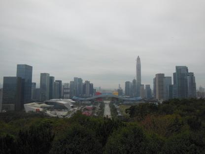 Shenzhen's stunning skyline