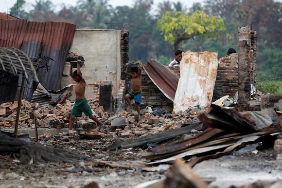 Rakhine conflict