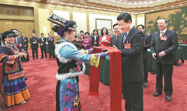 Xi poverty relief