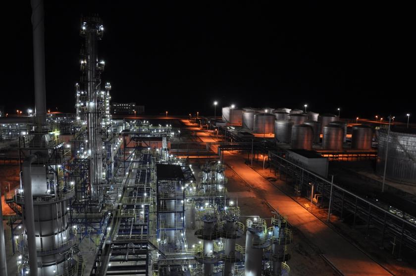 炼油厂夜景 (2)