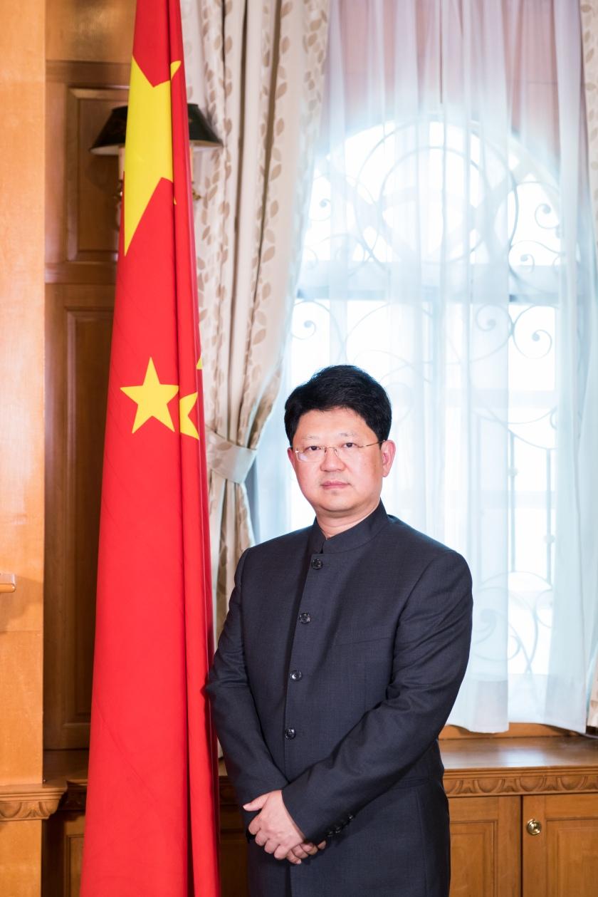 中国驻马来西亚大使白天