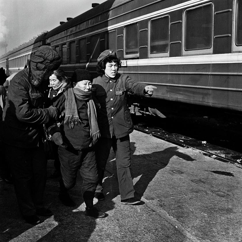 图为三棵树站,1978年。.jpg