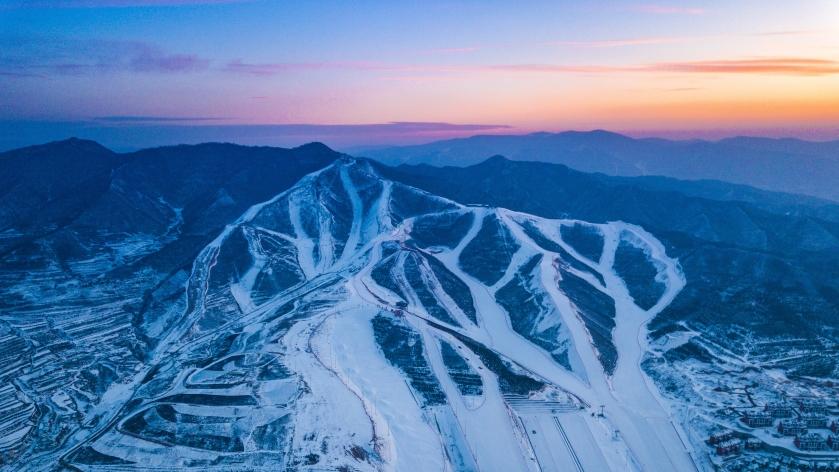 河北省张家口市崇礼区富龙滑雪场( Si Thu 供图)